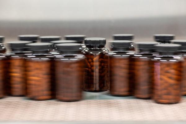Vitamin bottle manufacturing