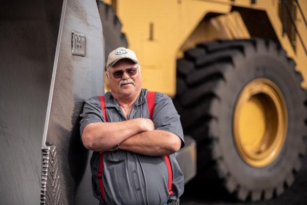 Haul truck driver, Intermountain Power Association, Delta Utah