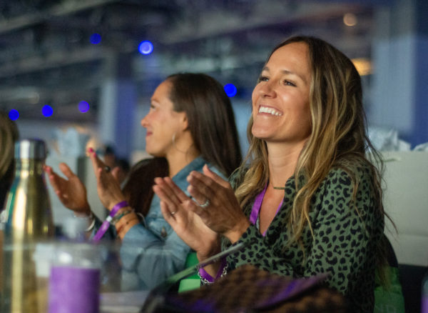 Audience reaction during doTERRA 2019 International Convention