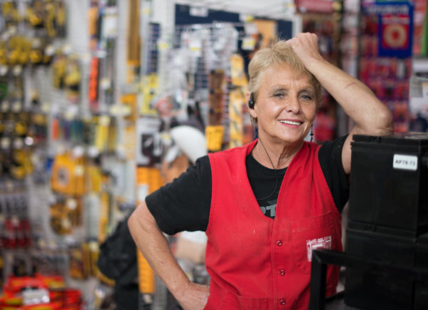 Hardware store clerk, Provo Utah