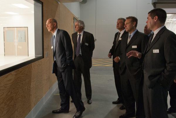 Factory tour for Edwards Life Sciences in Salt Lake City Utah