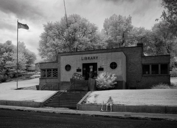 Infrared library in Milford Utah